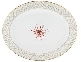 BernardaudBernardaud Etoile Oval Platter