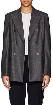 Calvin Klein Women's Glen Plaid Wool Blazer