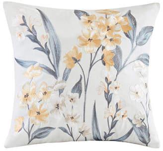 """Echo Venus 18""""x18"""" Embroidered Cotton Square Decorative Pillow"""