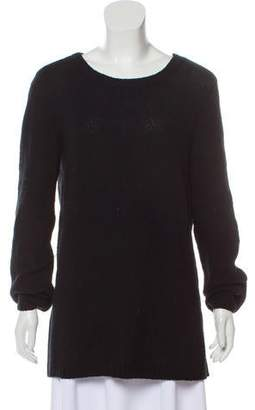 Inhabit Wool & Cashmere-Blend Long Sleeve Sweater