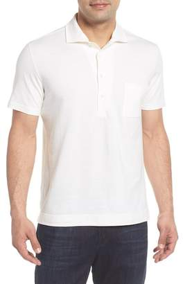 Luciano Barbera Slim Fit Solid Polo Shirt