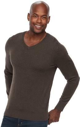 Croft & Barrow Men's Classic-Fit 12gg V-Neck Sweater