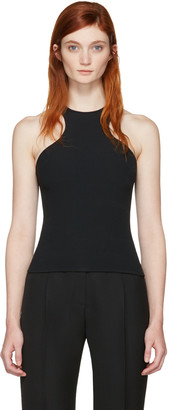 Dsquared2 Black Boot Lacing Tank Top $630 thestylecure.com