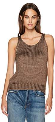 Vince Women's Crop Knit Tank