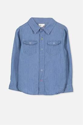 Cotton On Sunny Chambray Shirt