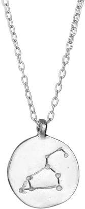Chupi - Leo We Are All Made Of Stars Star Sign Necklace in Silver