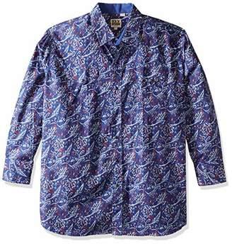 Ely & Walker Men's Long Sleeve Paisley Shirt