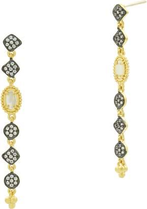Freida Rothman Imperial Mother of Pearl Drop Earrings