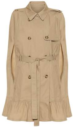 RED Valentino Cotton-blend trench coat cape