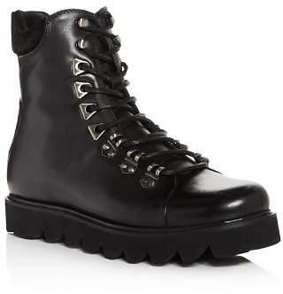 Karl Lagerfeld Paris Men's Leather Boots