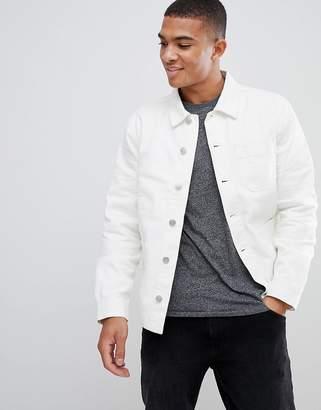 New Look worker jacket in cream