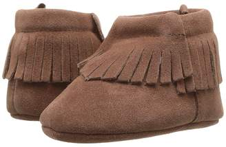 Baby Deer Soft Sole Moccasin Bootie Girl's Shoes