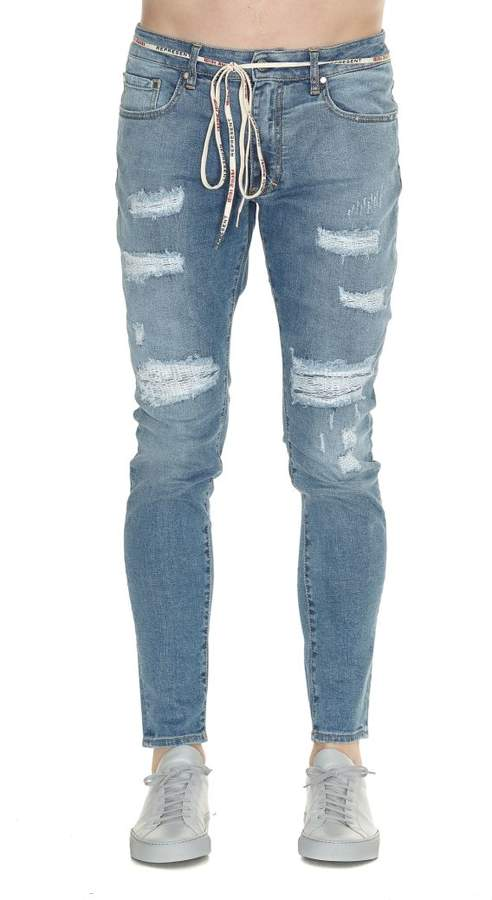Represent Repaired Denim Jeans