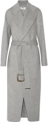 Acne Studios - Lova Oversized Wool And Cashmere-blend Coat - Stone