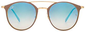 Ray-Ban Round in Taupe. $185 thestylecure.com