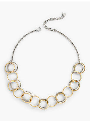 Talbots Two-Tone Links Necklace