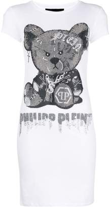 Philipp Plein long printed T-shirt