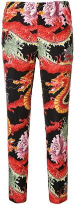 P.A.R.O.S.H. dragon print trousers