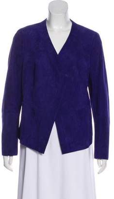 Akris Suede Structured Jacket