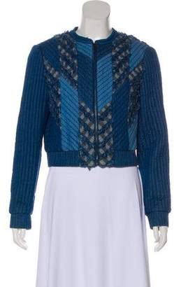 Rebecca Taylor Long Sleeve Zip-Up Jacket w/ Tags