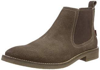 Levi's Footwear and Accessories Men's Whitfield Chelsea Boots, (Beige 23)