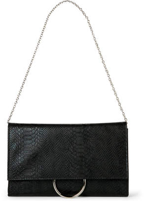 Jessica McClintock Black Nora Convertible Clutch