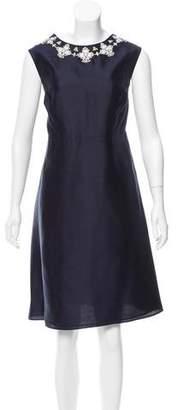 Tory Burch Silk Embellished Dress w/ Tags