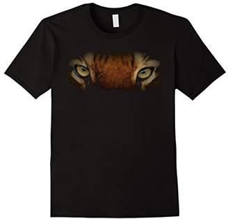Tiger Eyes BIG Animal Instinct Born Wild Leopard Cat T-Shirt