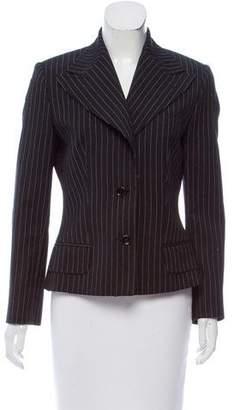Dolce & Gabbana Striped Wool Blazer