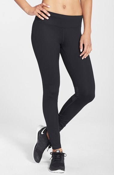 Women's Nike 'Epic Run' Mesh Insert Dri-Fit Tights