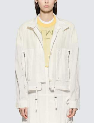Helmut Lang Parachute Short Trench Jacket