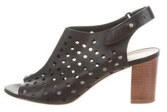 Loeffler Randall Laser Cut Ankle Strap Sandals