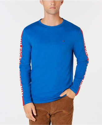Tommy Hilfiger Men Long-Sleeve Logo Graphic Shirt