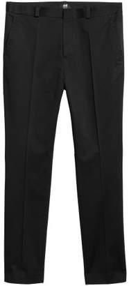 H&M Cotton Chinos Slim fit - Black