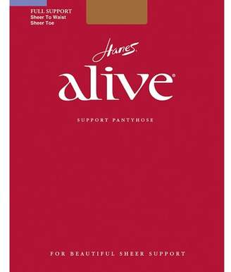 Hanes Womens Alive Sheer To Waist Support Pantyhose