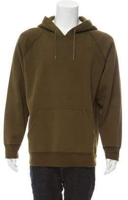 Our Legacy Olive Scuba Boiled Cotton Hoodie
