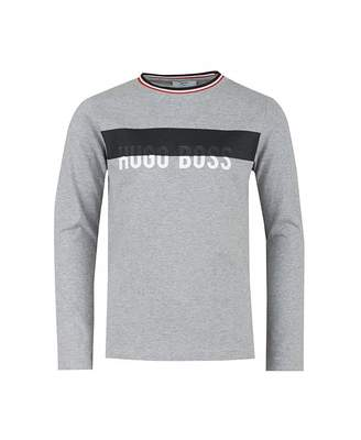 HUGO BOSS Kids Chest Panel Long Sleeved T-shirt