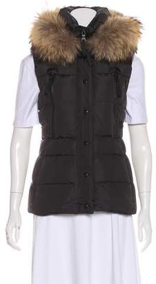 1eb947a07 Hooded Puffer Vest - ShopStyle