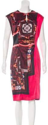 Etro Short-Sleeve Midi Dress