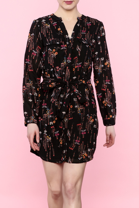 Everly Small Floral Shirtdress $69 thestylecure.com