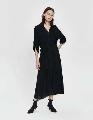 Stelen Iona Tie-Waist Shirtdress