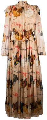 Dolce & Gabbana Galline print dress
