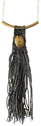 Rebecca Daryl Textured Aztec Necklace