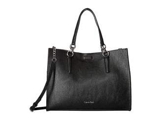 Calvin Klein Reversible East/West Novelty Box Tote Tote Handbags