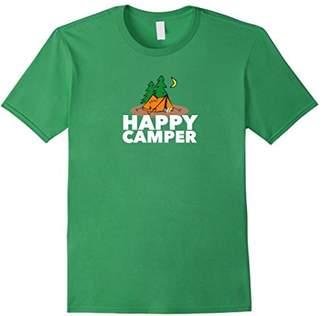 Camper Happy in Tent T-Shirt