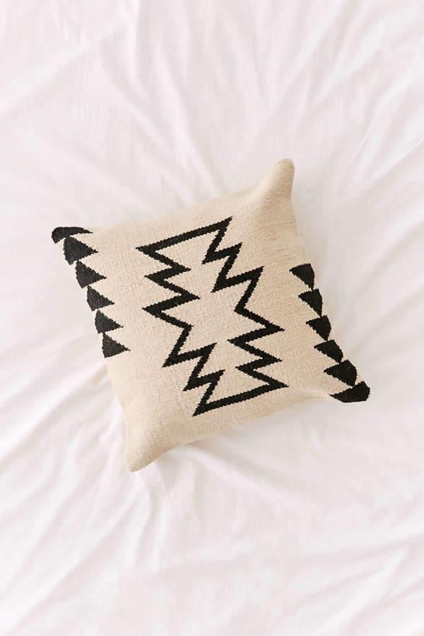 Southwestern Central Kilim Throw Pillow