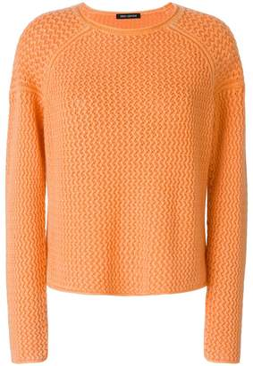 Iris von Arnim round neck jumper