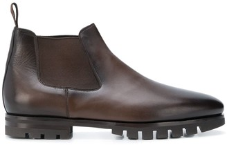 Santoni low chelsea boots