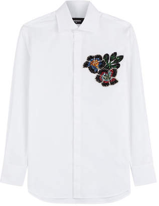 DSQUARED2 Embellished Cotton Shirt