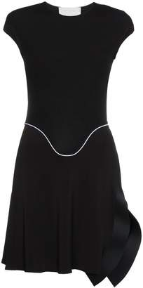 Esteban Cortazar asymmetric mini dress